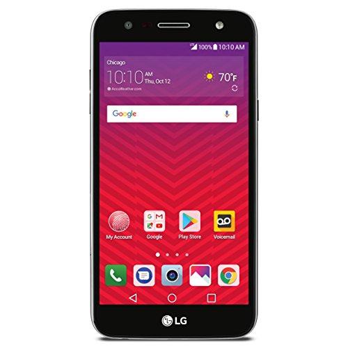 Virgin Mobile LGSP320AVB LG X Charge - Prepaid Carrier Locked - 5.5Inch Screen - 16GB - Titan Black (U.S. Warranty)