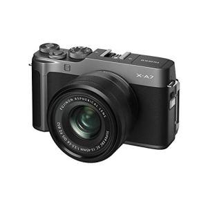 Fujifilm-X-A7-Mirrorless-Digital-Camera-wXC15-45mm-F35-56-OIS-PZ-Lens-Dark-Silver
