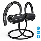 Bluetooth Headphones, HSPRO Wireless Sport Earbuds, 8GB Built-in Memory MP3 Player, IPX5 Sweatproof Running Workout Headphones w/Mic, HD Stereo Sound Sport Earphones Earbuds