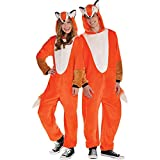Suit Yourself Zipster Fox One Piece Halloween Costume for Men, Extra Large