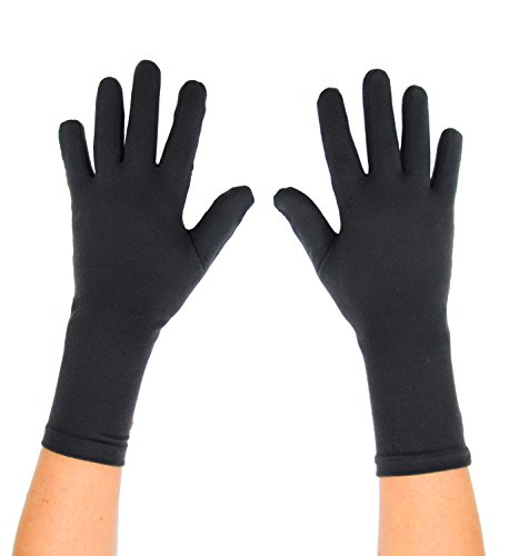 Protexgloves Original Gloves (Crow Black, Large)