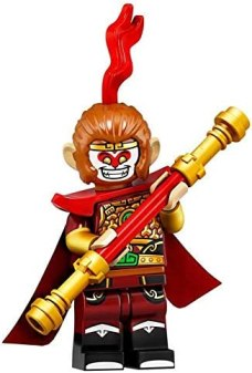 LEGO Minifigures Series 19 Monkey King Minifigure 71025 (Bagged ...