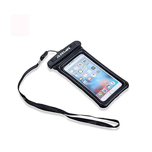 ARMR Waterproof Phone Case with Lanyard Neck Strap