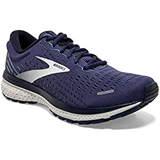 Brooks Men's Ghost 13, Deep Cobalt/Grey/Navy, 10 Medium Running Shoes Men