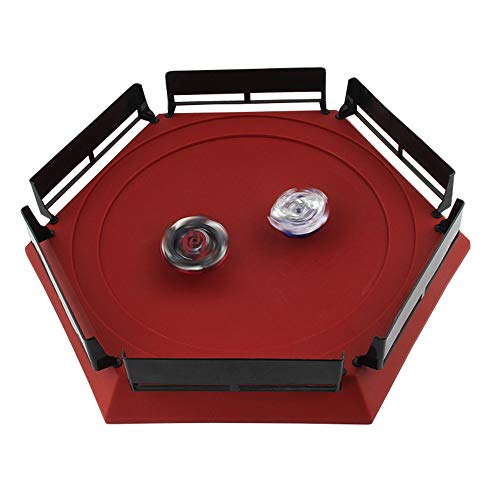 Kanzd Burst Gyro Arena Disk Exciting Duel Top Launcher Stadium (Red)
