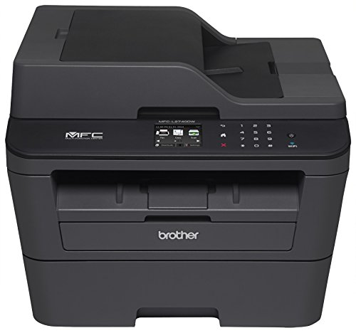 Brother MFCL2750DW Monochrome All-in-One Wireless Laser Printer, Duplex Copy & Scan, Amazon Dash Replenishment Enabled