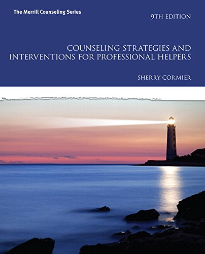 Counseling Strategies and Interventions for Professional Helpers with MyLab Counseling with Pearson eText -- Access Card Package (9th Edition) (Merrill Counseling)