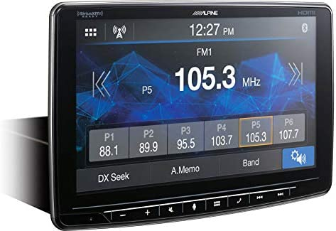 "Alpine iLX-F409 Car Audio 9"" Touchscreen Bluetooth Digital Media Radio Receiver"