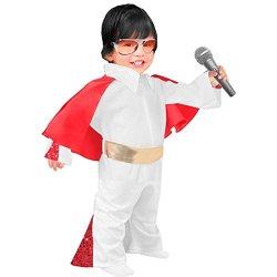 Toddler Elvis Jumpsuit Costume, Size Toddler 1T-2T