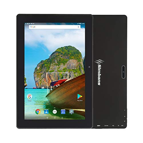 [3 Bonus Item] Simbans TangoTab 10 Inch Tablet | 2GB RAM, 32GB Disk, Android 8.1 Oreo | New 2019 Model | GPS, WiFi, USB, HDMI, Bluetooth | IPS Screen, Quad Core CPU, 2+5 MP Camera Computer PC
