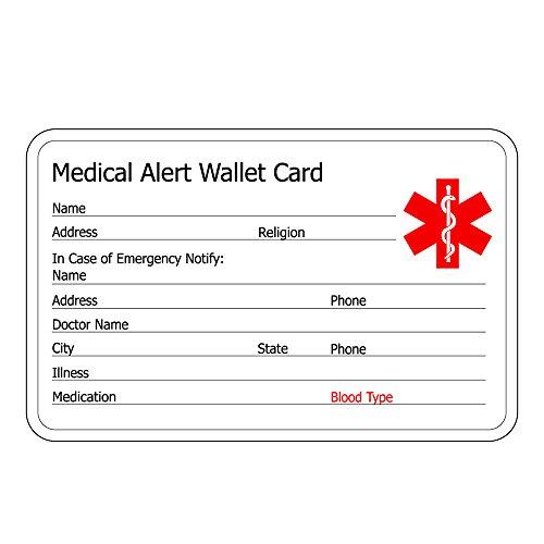 linnalove-Pre-Engraved Simple Rolo Chain Medical Alert Bracelet for Women & Girl-NO BP/IV/Needles This ARM deal 50% off 4103hhBvDNL