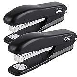 Mr. Pen- Stapler, 2 Staplers with 200 Staples, 20 Sheet Stapler, Desk Stapler, Office Staplers, Staples for Stapler, Office Supplies, Standard Stapler, Stapler with Staples, One Touch Stapler, Staple