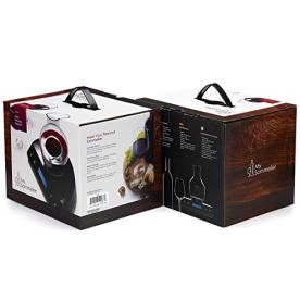 HUMBEE-Chef-My-Sommelier-Electric-Wine-Aerating-Decanter-Black