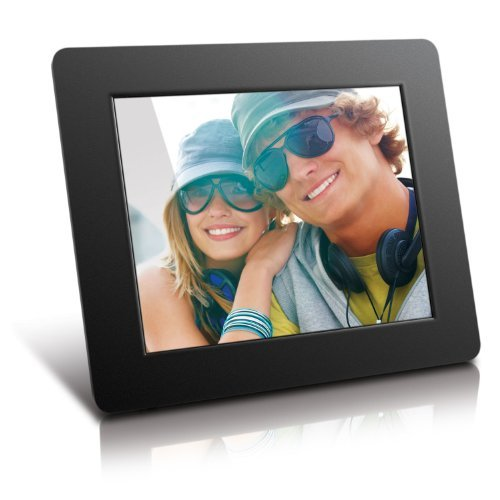 Aluratek Digital Photo Frame – Black