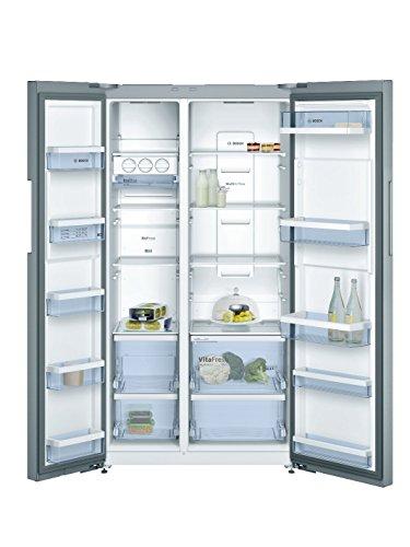 410Flu6fioL Bosch 661 L Frost Free Side-by-Side Refrigerator(KAN92VI35I, Stainless Steel, Inverter Compressor)