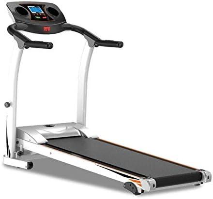 YFFSS Running Machines Intelligent Digital Folding Treadmill, Extended Safety Handrail, 5-Layer Safety Skid Track Portable Treadmill Running Jogging Gym Exercise Fitness 1