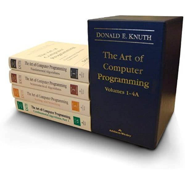 The Art Of Computer Programming Volumes 1 4a Boxed Set 8580001170602 Computer Science Books Amazon Com