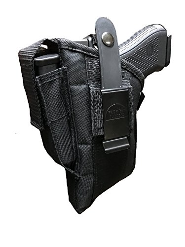 Pro-Tech Outdoors Laser Holster, Fits All Medium to Large frame Glock,S&W, Baretta,Springfield,Colt,Taurus,Walther,Ruger,Sig Sauer and Many more with 3.7' to 5' Barrel With Laser