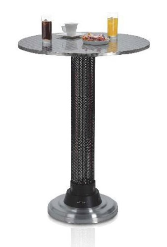 Emerio TH-104982.1 Stehtisch mit Heizung von Emerio