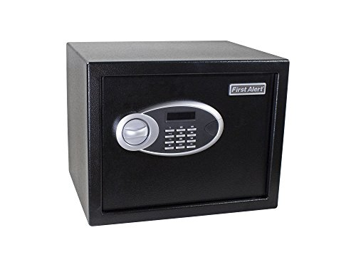 First Alert 4009DFB Anti-Theft Safe with Digital Lock, .94 Cubic-Foot, Black
