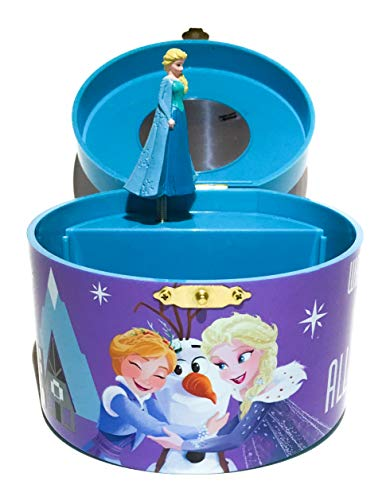 Disney Princess Elsa and Anna Musical Jewelry Box