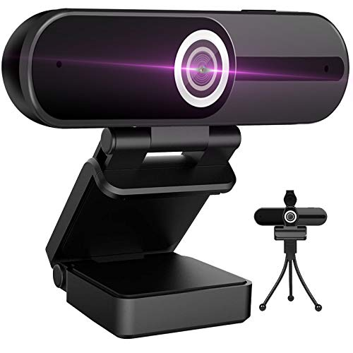 Webcam-4K-HD-Computer-Camera-8MP-Microphone-PC-Web-Camera-Full-Widescreen-Laptop-USB-Webcams-Privacy-Shutter-Tripod-Mac-Desktop-Notebook-Webcam-Video-Calling-Recording-Webcam