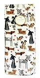 Cynthia Rowley Cute Multi Dog Breeds & Pink Hearts Cozy Valentines Love Decorative Plush Throw Blanket 60' x 70'