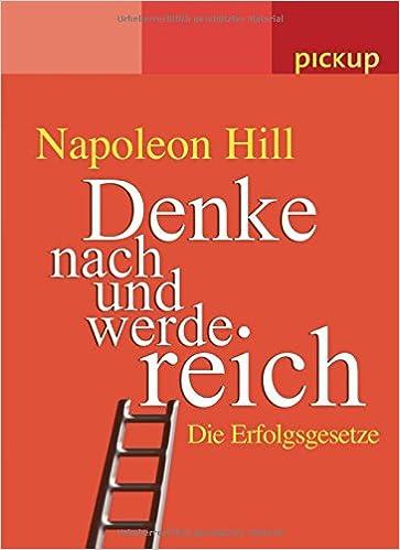 Buch - Denke nach werde reich Erfolgsgesetze