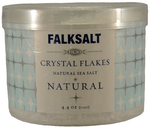 Falksalt Crystal Flakes Natural Sea Salt Natural 4.4 Oz