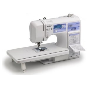 Brother HC1850 Computerized Sewing and Quilting Machine and Brother SA156 Top Load Bobbins, 2 packs of 10 (20 total)