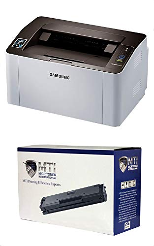 MICR Toner International Xpress M2020w Laser Check Printer Bundle with Compatible Samsung D111S MICR Toner Cartridge