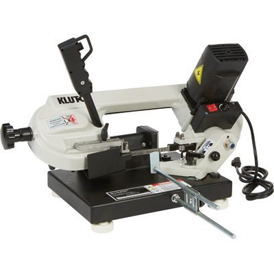 Klutch Benchtop Metal Band Saw - 3in. x 4in, 1 1/3 HP, 120V Motor