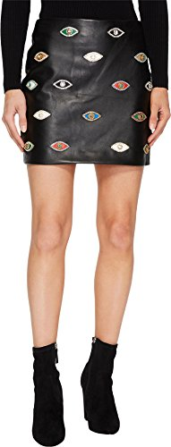 410ZoCa lPL Nicole Miller Size Chart   Add  rebellious style to your wardrobe with the Evil Eye Skirt.