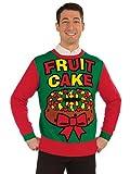 Forum Novelties Fruit Cake Christmas Sweater