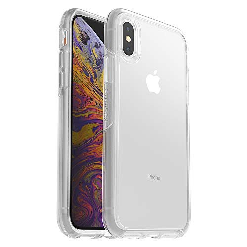 OtterBox SYMMETRY CLEAR SERIES Case for iPhone Xs & iPhone X - Frustration Free Packaging - CLEAR