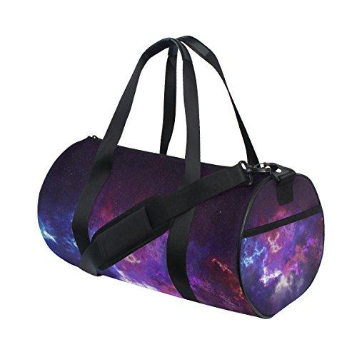 ahomy astronomía cielo estrellado espacio moda deportes bolsa de gimnasio bolsa de viaje
