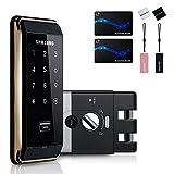 SAMSUNG SHS-D500 Digital Door Rim Lock + 6 Key Tags, English Manual