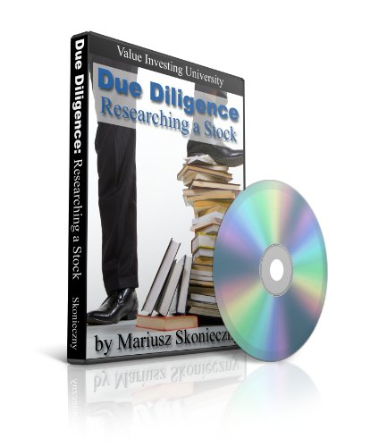 Due Diligence: Researching a Stock: Value Investing University DVD Collection, DVD Number 3