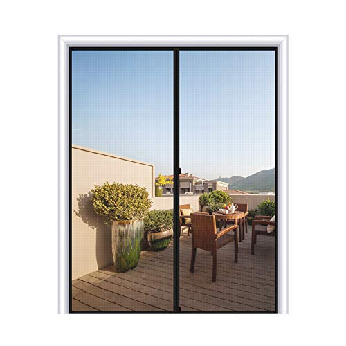 MAGZO Magnetic Screen Door 72 x 96,...