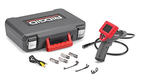 RIDGID-40043-Model-micro-CA-25-Hand-Held-Inspection-Camera-BorescopeRed