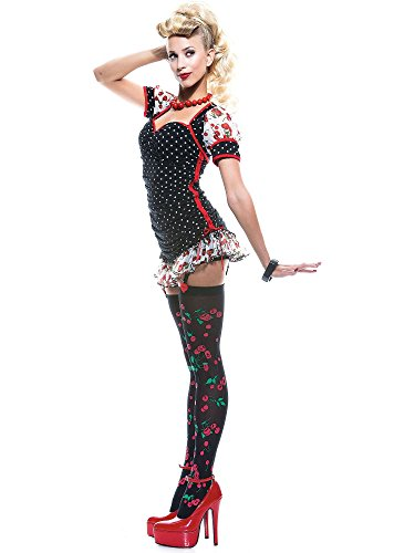 French Kiss Pin-up Girl Costume