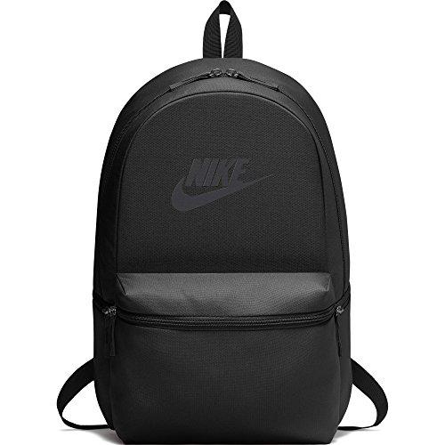 NIKE Heritage Backpack, Black/Black/Anthracite, One Size