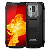 Rugged Cell Phones Unlocked, Blackview BV6800 pro 4G LTE IP68 Waterproof Smartphone 6580mAh Battery 4GB+64GB [MIL-STD-810G] Octa Core 8MP+16MP Dual Rear Camera 5.7' FHD+IPS AT&T T-Mobile (Black)