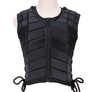 JIUCHEN Horse Riding Vest, Equestrian Body Protector Protective Gear | Horse Riding Training Waistcoat Body Safety EVA…