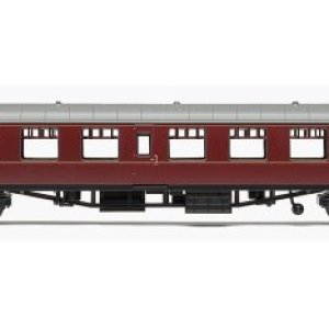 Railroad Br Mk1 Tourist Second Open Coach – Br Maroon 411AiMfY5OL