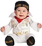 Rubie's Costume Co. Baby Boys' Elvis Costume, Multi-Color, 6-12 Months