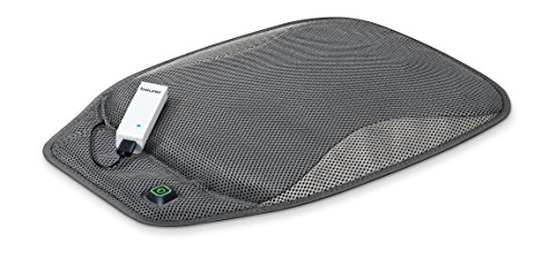 Beurer Portable Wireless Heated Seat Cushion with Convenient Storage Bag, Rechargeable, Durable for Indoor and Outdoor Use, HK47