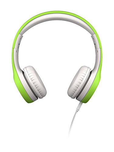 LilGadgets Connect+ Premium Volume Limited Wired Headphones with SharePort for Children - Green