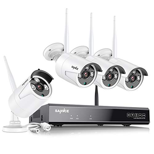 8CH-ExpandableSANNCE-Wireless-Security-Camera-System-8CH-H264-1080P-Home-NVR-w-4Pcs-2MP-Outdoor-Enhanced-Signal-WiFi-Surveillance-Cam-Weatherproof-P2P-MotionAlert-and-ScreenshotNO-Hard-Drive