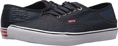 Levi's Men's Monterey Denim Sneaker, Navy, 12 M US